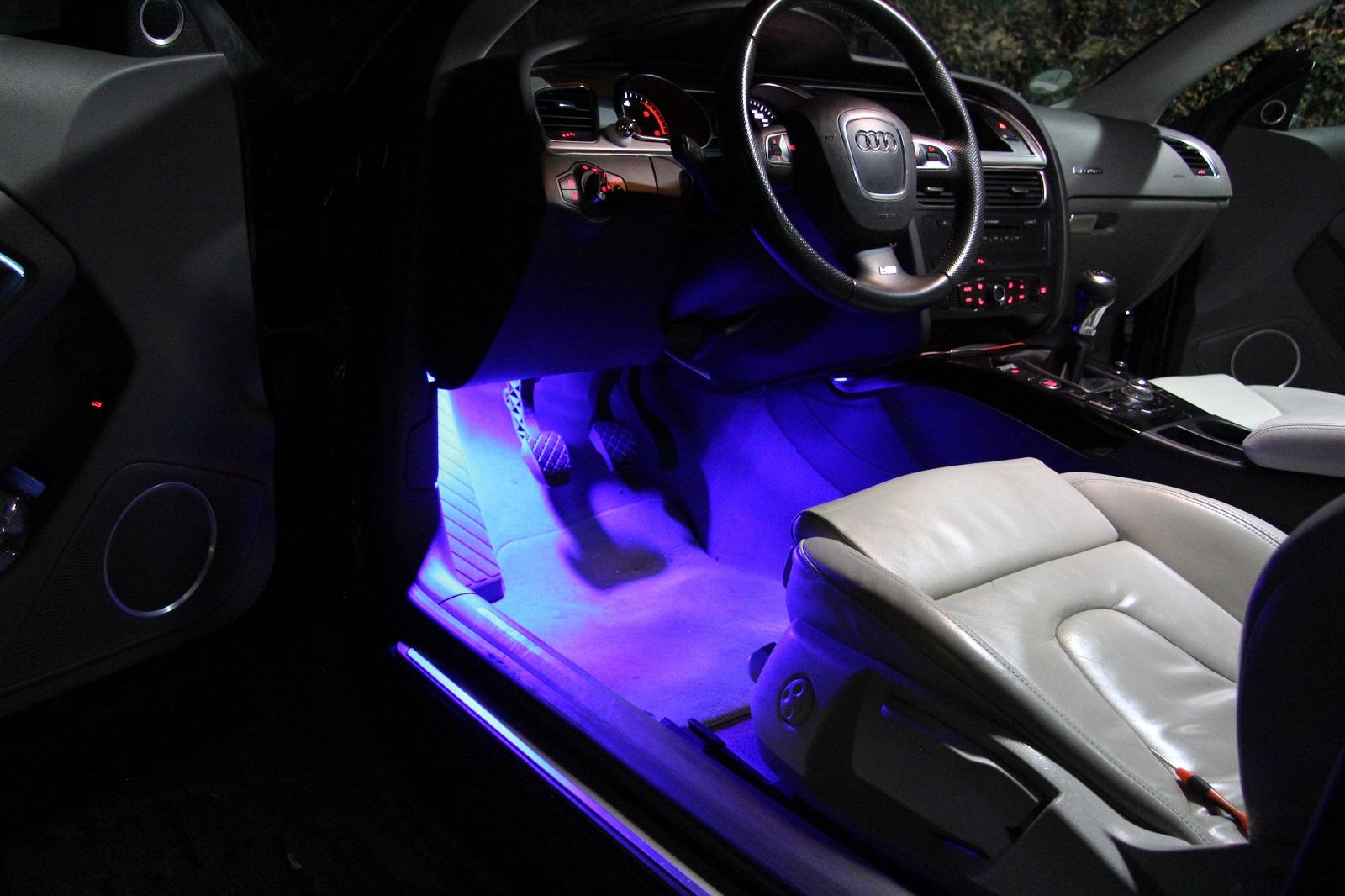 6x5050 smd led modulplatine fussraumbeleuchtung blau f r vw multivan 6 t6 ebay. Black Bedroom Furniture Sets. Home Design Ideas