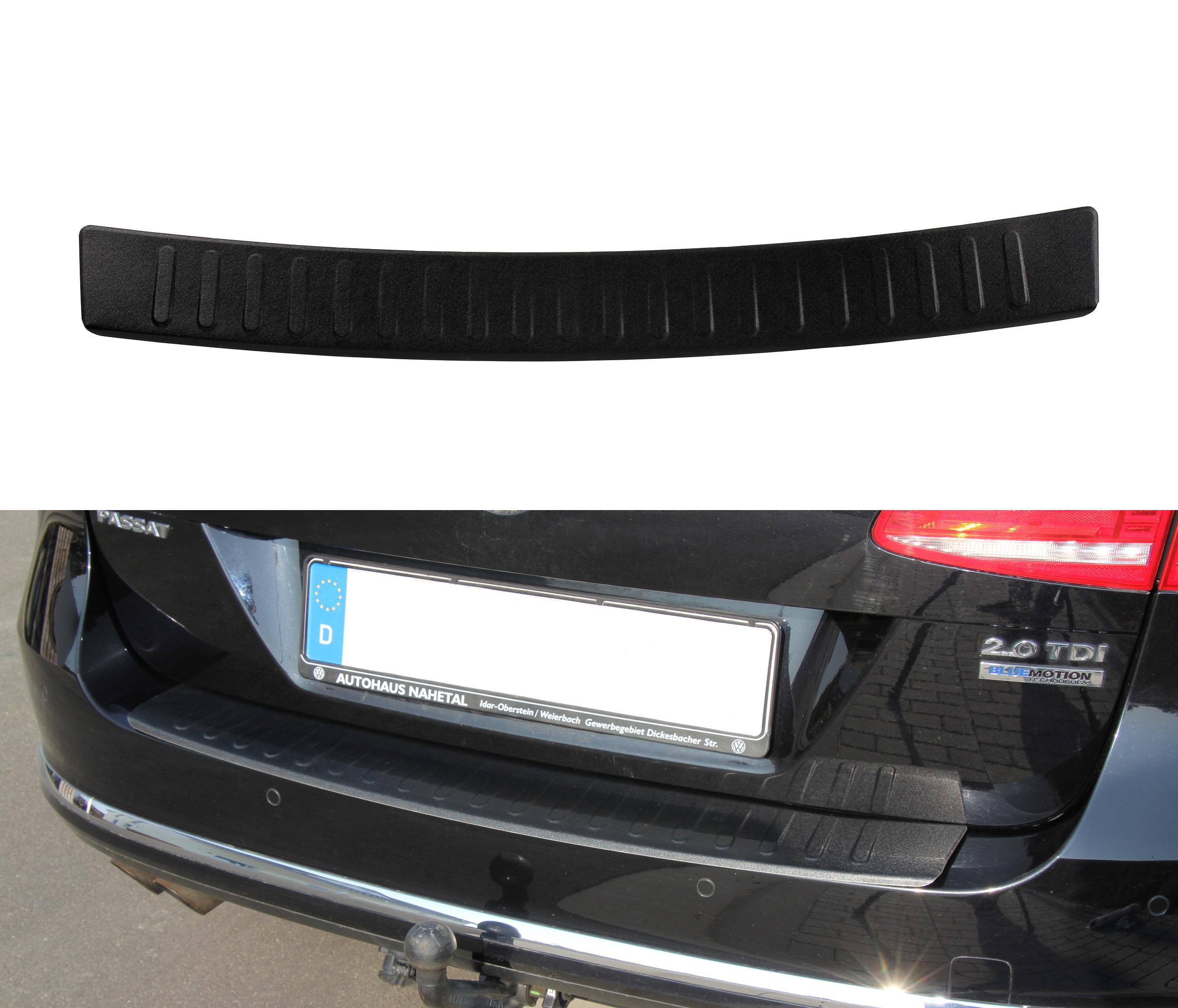 Ford Kuga 3 Ladekantenschutz Chrome Edelstahl  mit Abkantung Ladeschutz